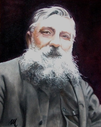 Auguste Rodin by mario